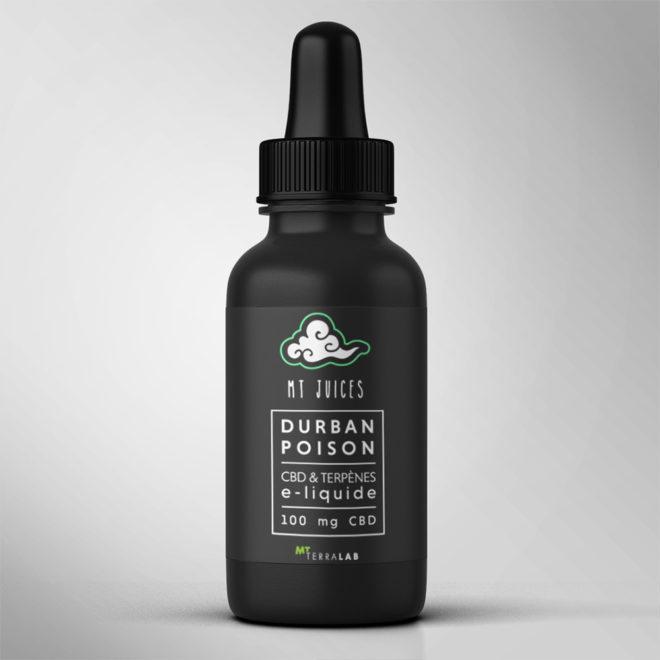 MT Juices - Durban Poison - E-liquide CBD Suisse par MT Terralab - 100mg